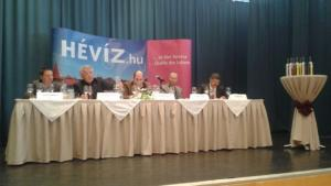 Welschriesling of Rezi of the vintage 2013 has become the Wine of Town Hévíz